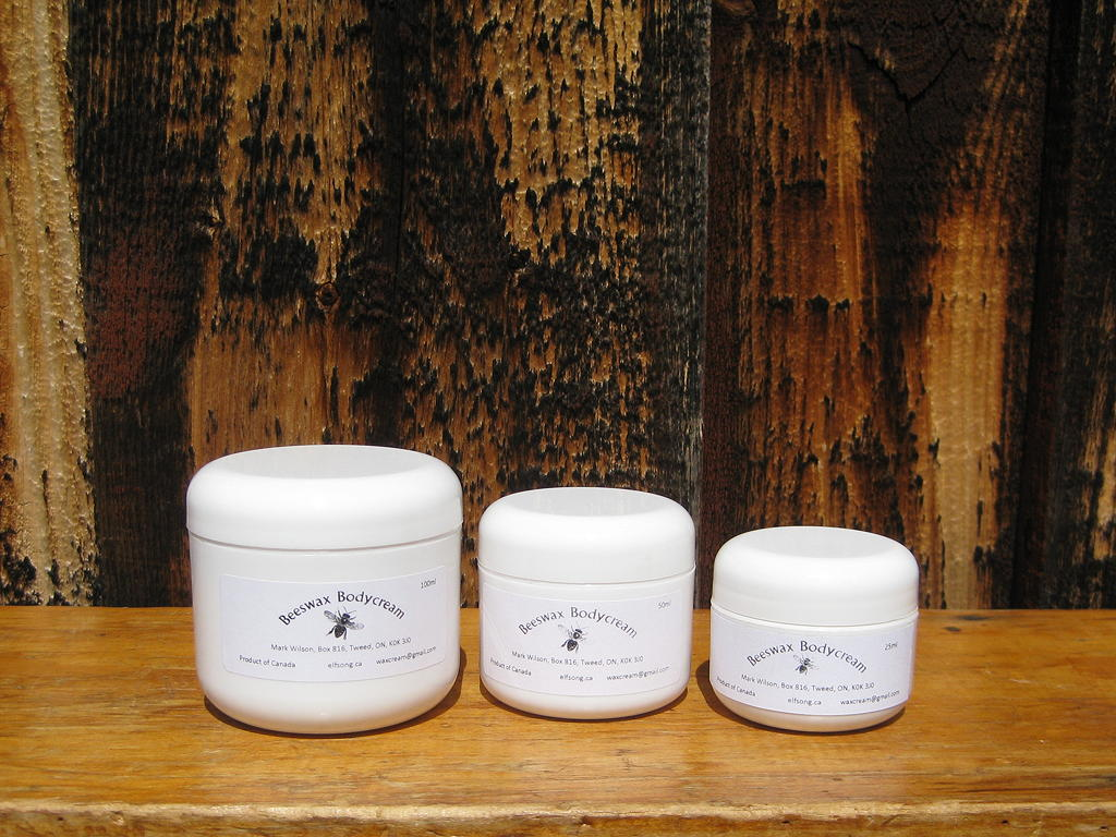 beeswax body cream