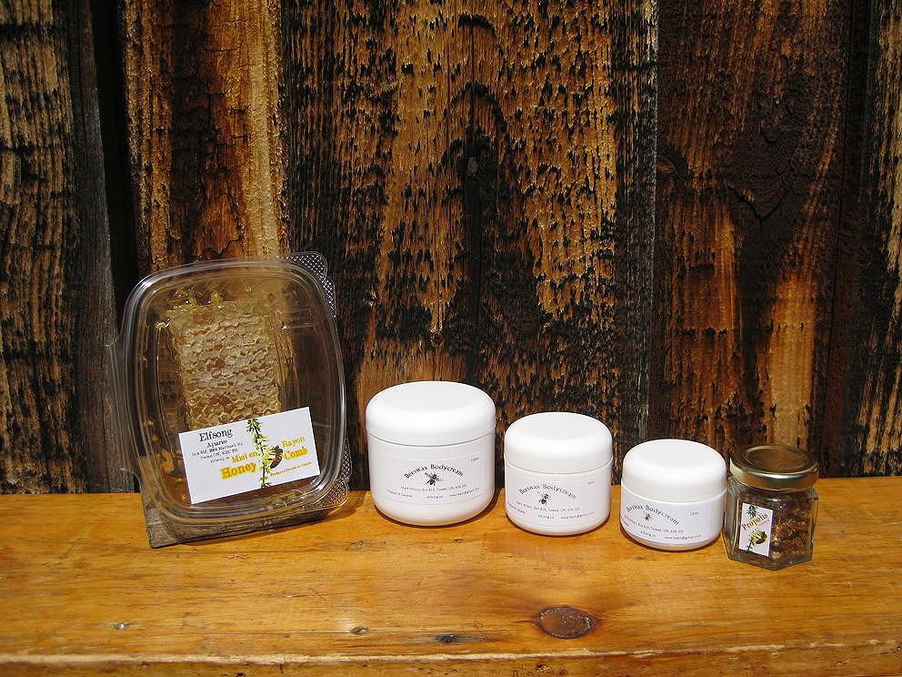 comb honey beeswax cream propolis